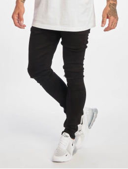 DEF Straight fit jeans Reckless zwart