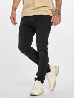 DEF Straight fit jeans Dean zwart