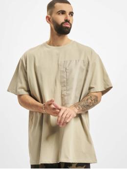 DEF T-Shirt Basic Pocket beige