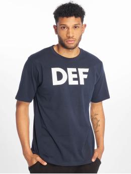 DEF t-shirt Her Secret  blauw