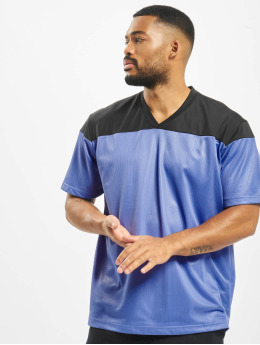 DEF T-Shirt Pitcher bleu