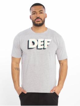 DEF t-shirt Moses grijs