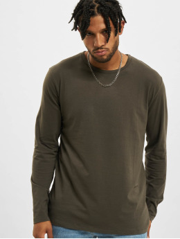 DEF T-Shirt manches longues Basic  olive