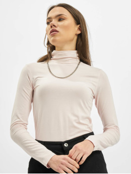 DEF T-Shirt manches longues Basic   rose
