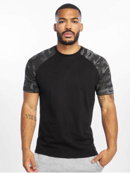 DEF T-shirt Kami nero