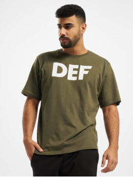 DEF t-shirt Her Secret olijfgroen