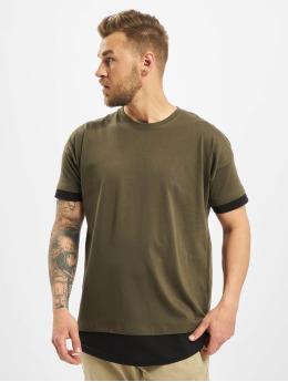 DEF t-shirt Tyle  olijfgroen
