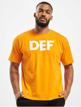 DEF t-shirt Her Secret oranje