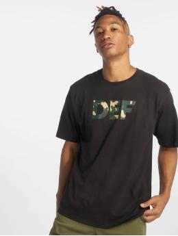DEF t-shirt Signed zwart