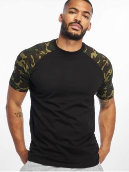 DEF t-shirt Kami zwart