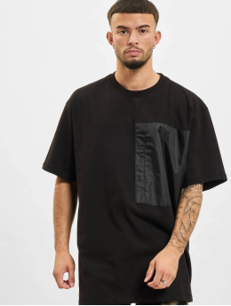 DEF t-shirt Basic Pocket zwart