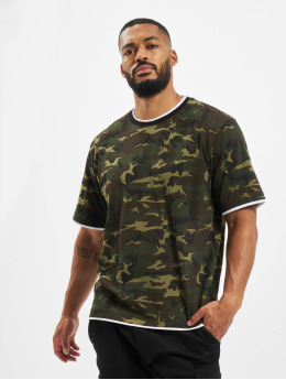 DEF T-shirts Basic camouflage