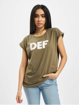 DEF T-shirts Sizza  oliven