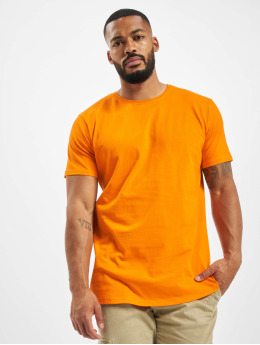 DEF T-shirts Dedication orange