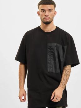 DEF T-Shirty Basic Pocket czarny