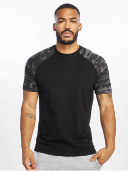 DEF T-skjorter Kami svart