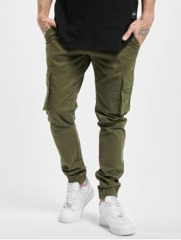 Denim Project Cargo pants Classic  zelený
