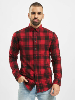 Denim Project Chemise Check  rouge