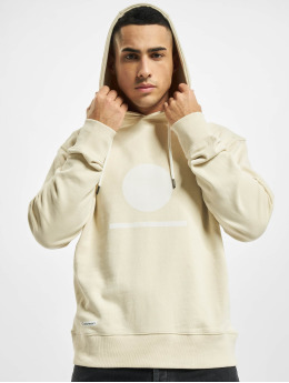 Denim Project Hoody Horizon Logo Organic beige