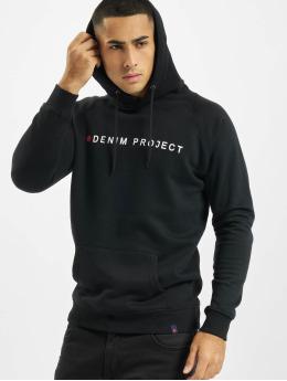 Denim Project Hoody Logo  schwarz