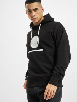 Denim Project Hoody Horizon Logo Organic schwarz