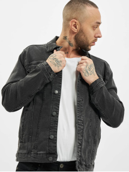 Denim Project Jeansjackor Kash  grå