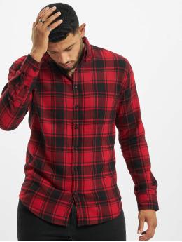Denim Project Košile Check červený