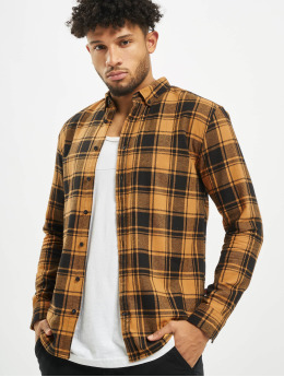 Denim Project Shirt Check  orange