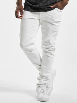 Denim Project Skinny Jeans Mr. Red  bílý