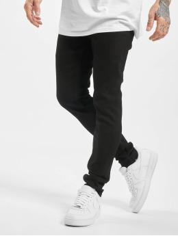 Denim Project Skinny Jeans Mr. Red  schwarz