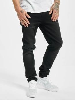 Denim Project Skinny jeans Mr. Black zwart