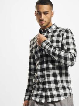 Denim Project Skjorte Check  hvid