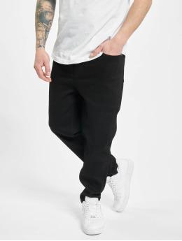 Denim Project Slim Fit Jeans Mr Yellow schwarz
