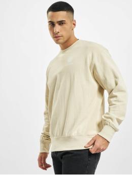 Denim Project Swetry Horizon Logo bezowy