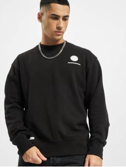 Denim Project Swetry Horizon Logo Organic czarny