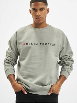 Denim Project Swetry Logo  szary