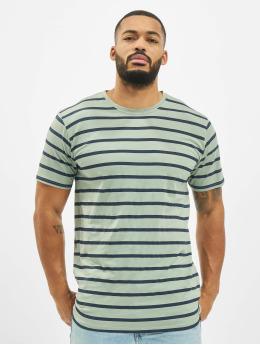 Denim Project T-Shirt Marcos Strip grün