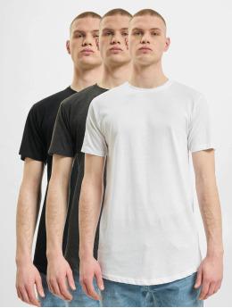 Denim Project T-Shirt Longy 3-Pack noir