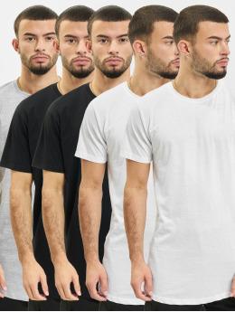 Denim Project T-Shirt Longy 5 Pack T-Shirt schwarz