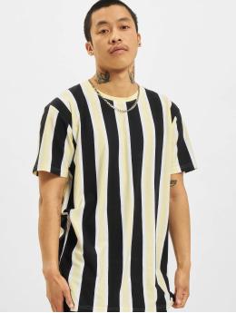 Denim Project T-Shirt Ramirez Stripe schwarz