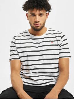 Denim Project T-Shirty Stripe  bialy