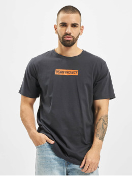 Denim Project T-skjorter Box Logo blå