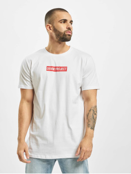 Denim Project T-skjorter Box Logo hvit
