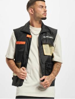 Denim Project Vest 3D black