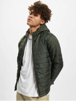Denim Project Veste mi-saison légère Quilted Hood vert