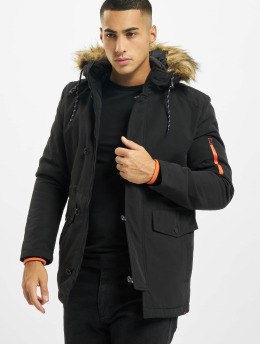 Denim Project Winterjacke Kondy  schwarz
