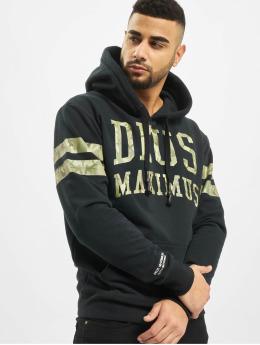 Deus Maximus Bluzy z kapturem Incognito  czarny