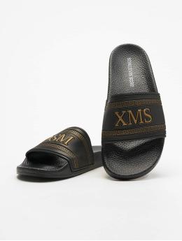 Deus Maximus Claquettes & Sandales Apollon noir