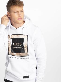 Deus Maximus Felpa con cappuccio Fiori bianco
