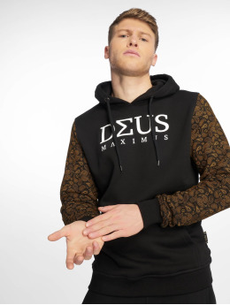 Deus Maximus Hoody Louisblanche schwarz